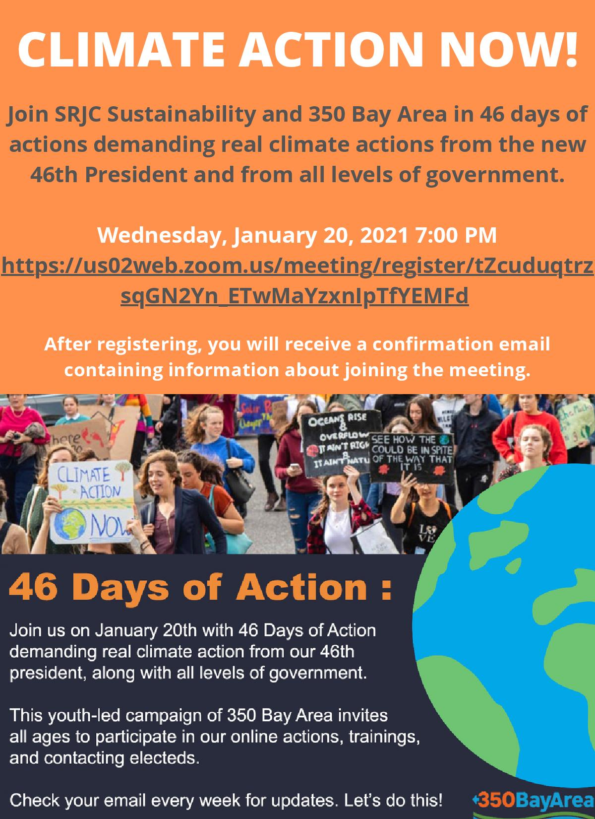 46 days of action